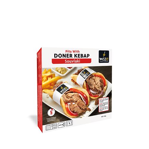 Pita with Doner Kebab